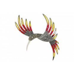 Broszka rajski ptak