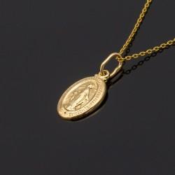 Złoty Cudowny Medalik