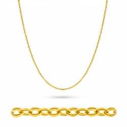 Złoty łańcuszek Rolo