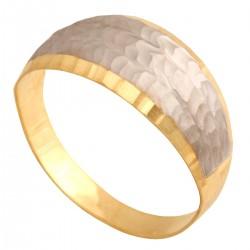 Pierścionek zaręczynowy  żółte białe złoto brylant 0,30 ct klasyczny